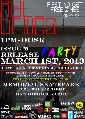 Issue 5 Release Party